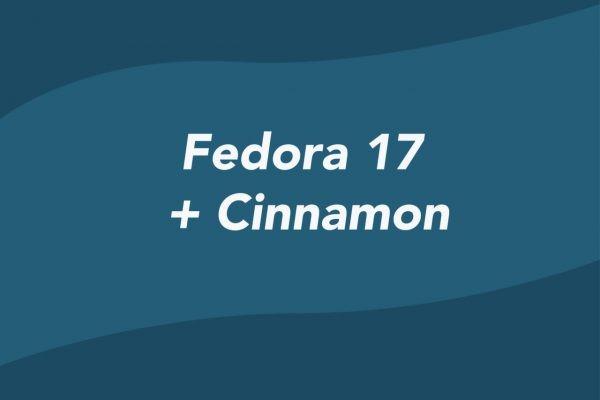 Fedora 17