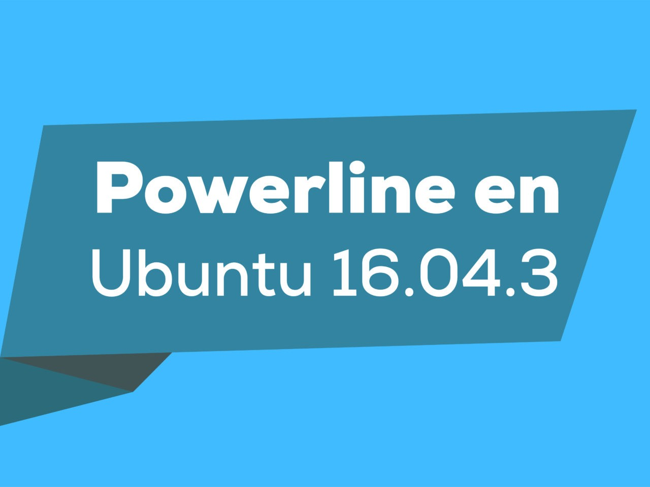 Powerline en Ubuntu 16.04.3