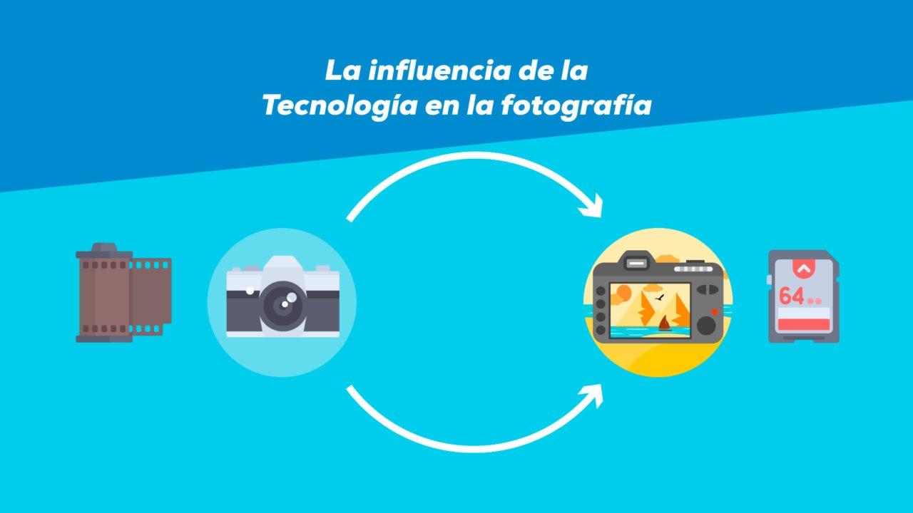 La influencia de la tecnología en la fotografía