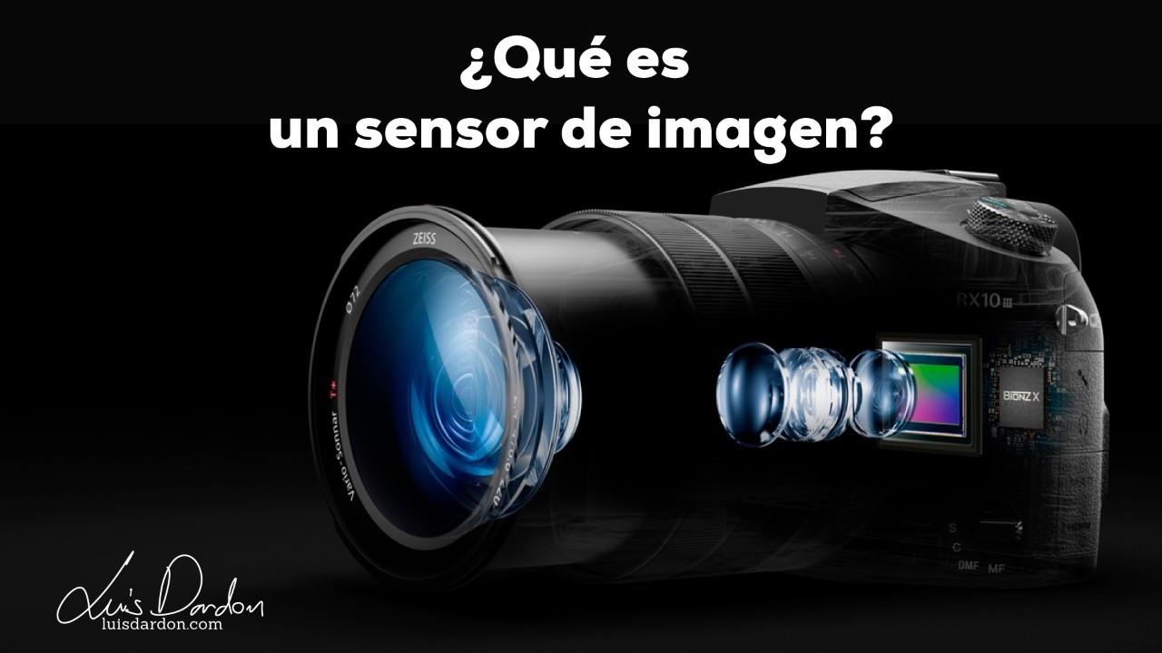 ¿Qué es un sensor de imágenes?